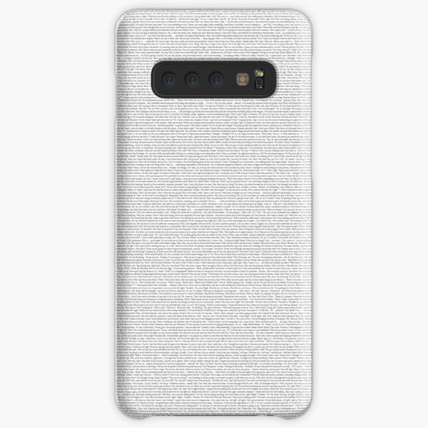 The Shrek Script Samsung Galaxy Snap Case