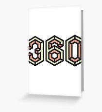 360 Greeting Card
