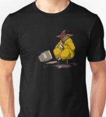 Meditating GNU Playing a Flute T-Shirt
