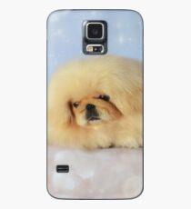 Cute cream pekingese puppy Case/Skin for Samsung Galaxy