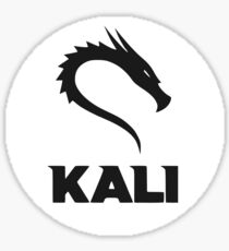 Pegatina Logotipo de Kali GNU + Linux