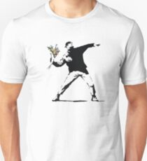 Flower man - Street art Unisex T-Shirt