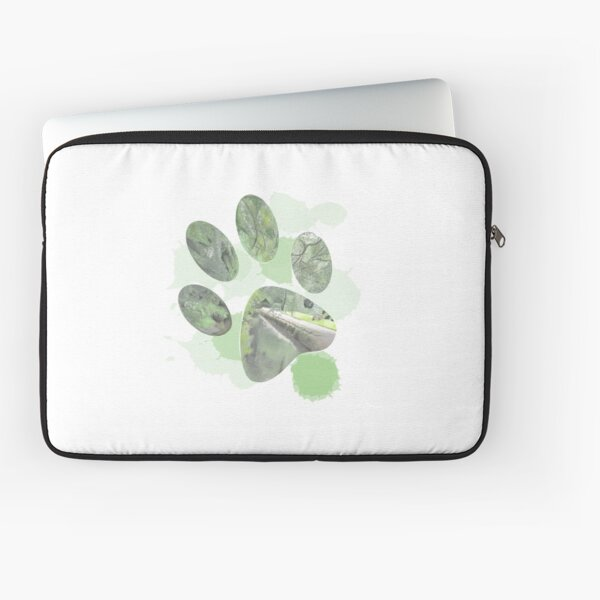 Love your dog and your dog loves the woods. Laptop Sleeve