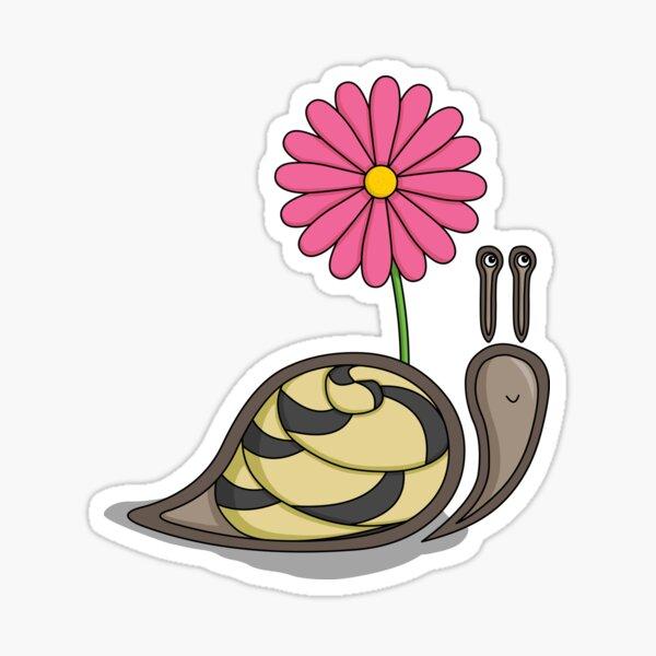 Sadie the Snail Sticker