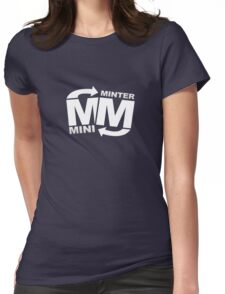 miniminter youtube Womens Fitted T-Shirt
