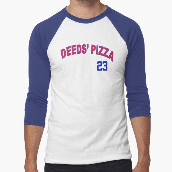 Deeds Pizza Baseball ¾ Sleeve T-Shirt