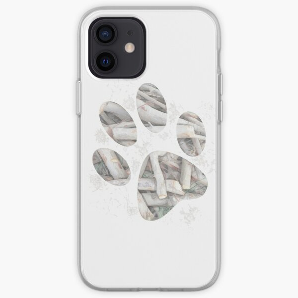 Love your dog and your dog loves sticks iPhone Soft Case