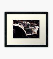 Aston Martin 1939 Framed Print