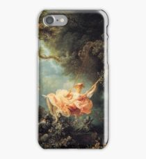 The Swing - Jean-Honoré Fragonard iPhone Case/Skin