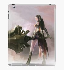 Anime Girl Sword Play iPad Case/Skin