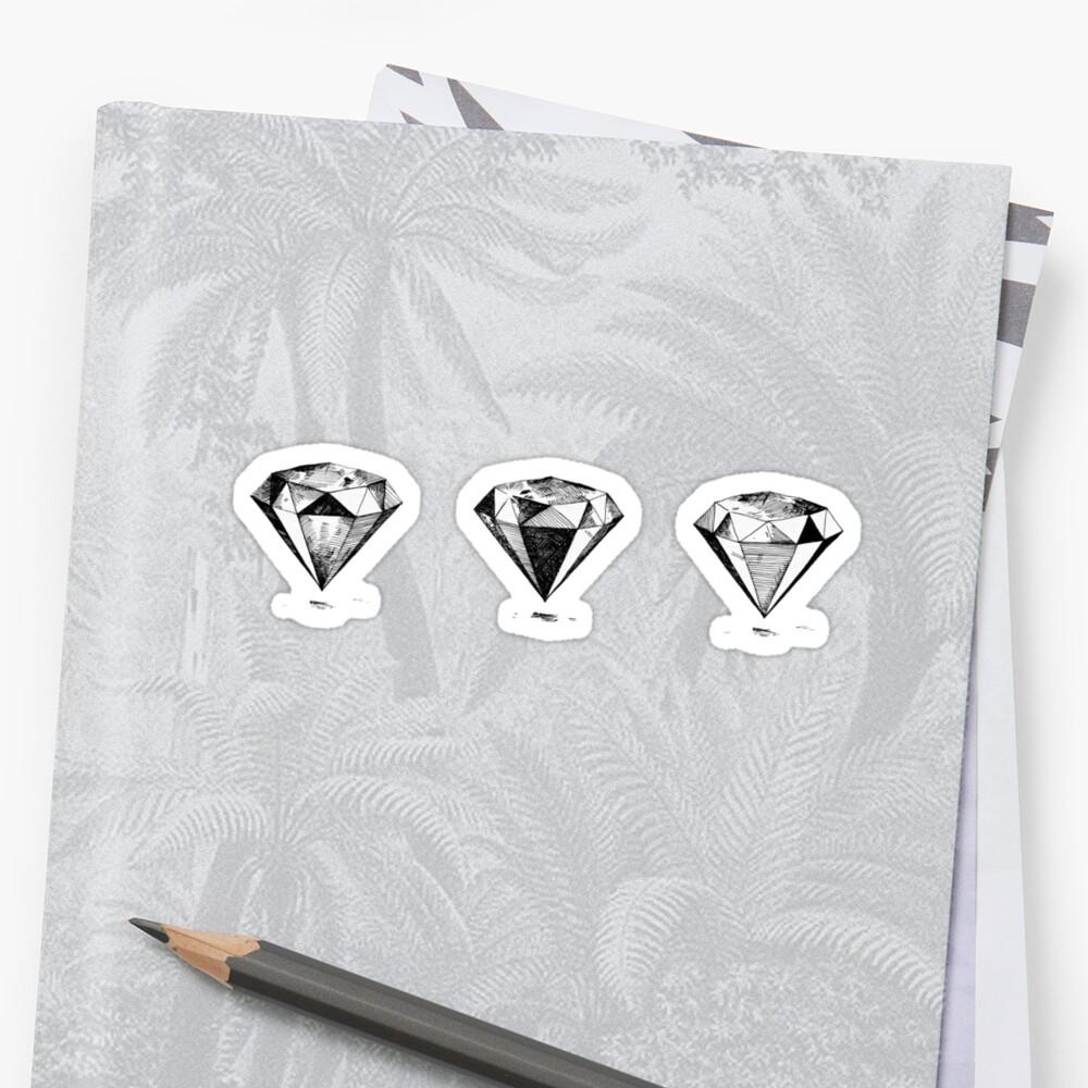 3 Diamonds by alexklp