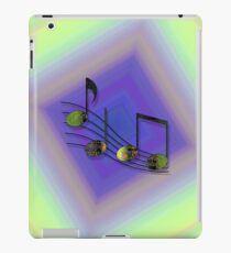 Dubstep Notes iPad Case/Skin