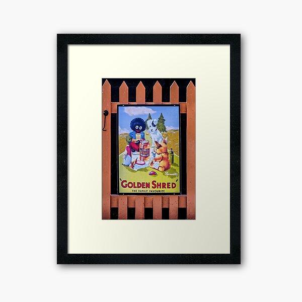 Golden Shred - The family favourite Framed Art Print