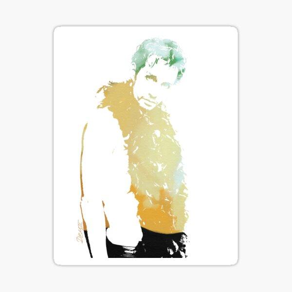 Klaus Hargreeves/ Robert Sheehan Art Sticker