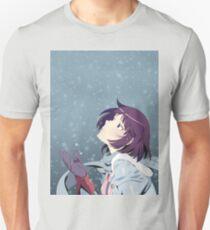 Hitagi Senjougahara Bakemonogatari Unisex T-Shirt