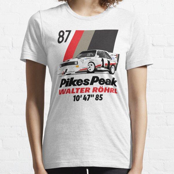 Walter Rohrl Pikes peak 87 Essential T-Shirt