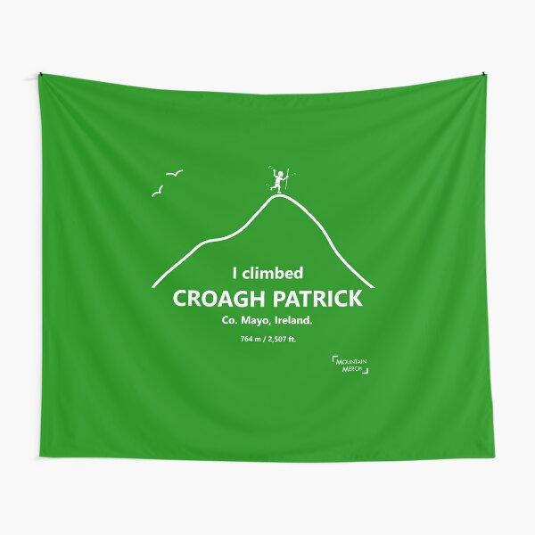 I climbed Croagh Patrick - Happy hiker Tapestry