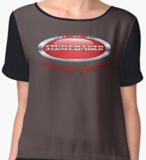Studebaker  badge T Shirt  Women's Chiffon Top