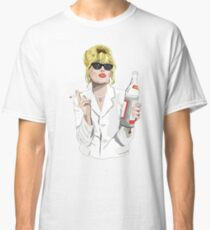 Patsy Stone AbFab Cheers Darling Classic T-Shirt