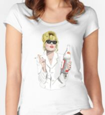 Patsy Stone AbFab Cheers Darling Women's Fitted Scoop T-Shirt