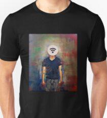 Wifi-Head / 21st Century Identity (What's your wifi password) T-Shirt
