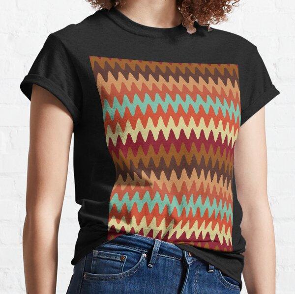 Wavy Pattern Sedona Southwest Classic T-Shirt