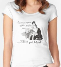 Nick Cave - To the toiler, the spoils. Women's Fitted Scoop T-Shirt