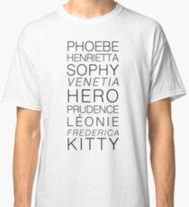 Georgette Heyer's Heroines Classic T-Shirt