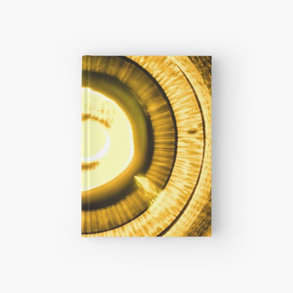 Iris Golden Hardcover Journal