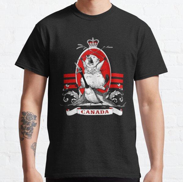 Castor gritando Camiseta clásica