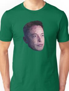 Low Poly Hero: Elon Musk – Shirts & Hoodies Unisex T-Shirt