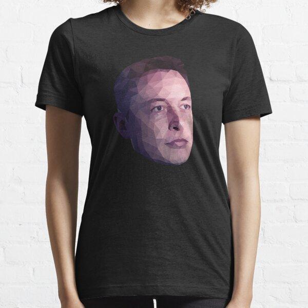 Low Poly Hero: Elon Musk – Shirts & Hoodies Essential T-Shirt