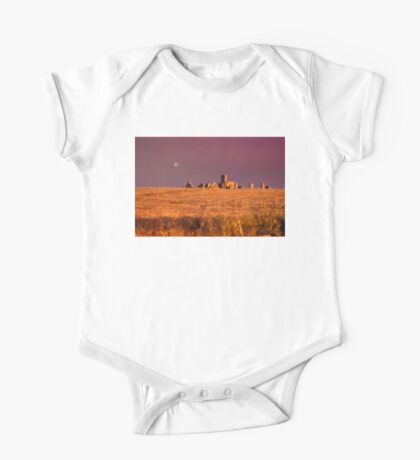 New Slains Castle at Sunset - Cruden Bay - Aberdeenshire - Scotland Kids Clothes