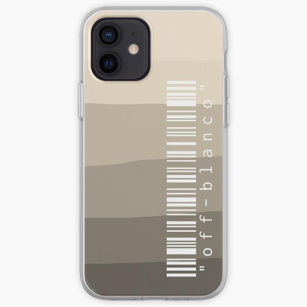 Funda para teléfono blanquecina (piedra) Funda blanda para iPhone