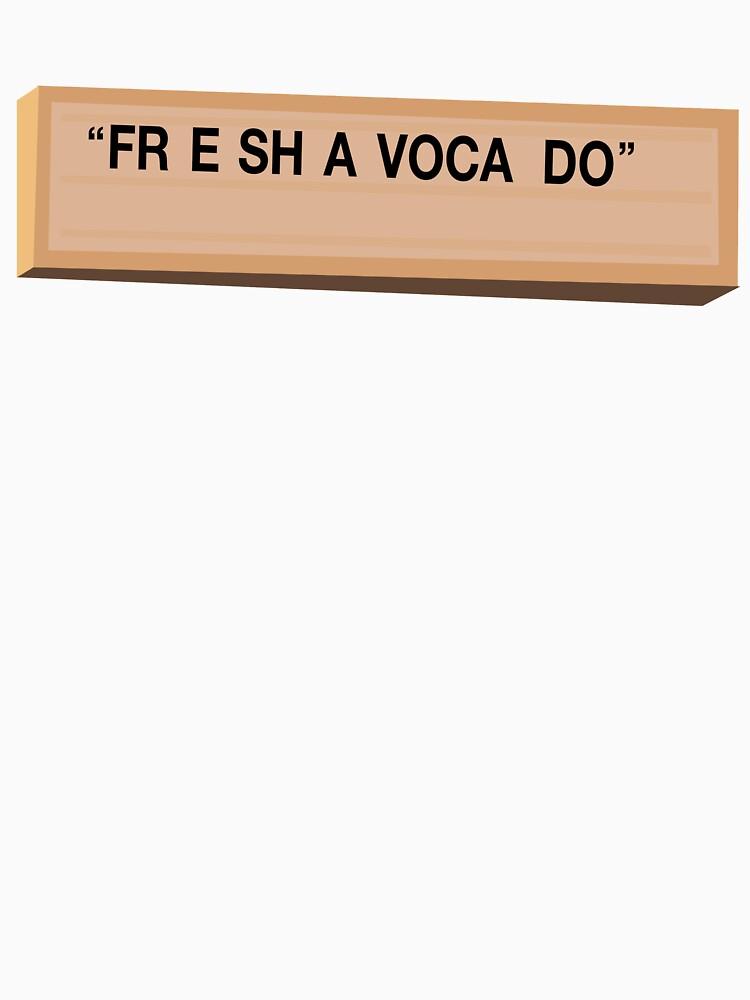 Fr e sh a voca do by Joshamawaka