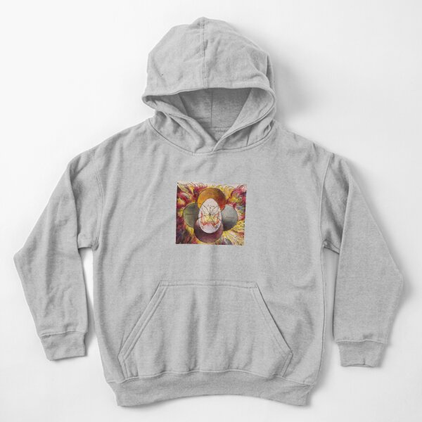 Illustration to Milton a Poem. In Blake's mythology, Adam and Satan are two extremes of the fallen Albion. Kids Pullover Hoodie