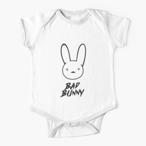 Bad Bunny Body de manga corta para bebé