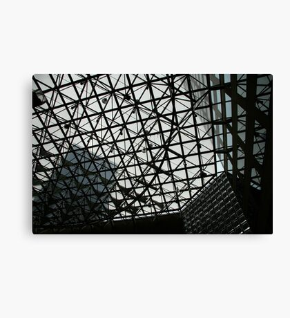 City grid Canvas Print