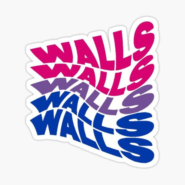 louis tomlinson paredes logos bandera bisexual Pegatina