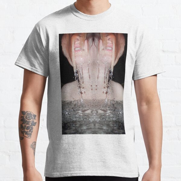 Cascada facial Camiseta clásica