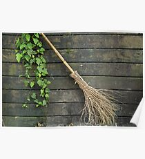 Witches broomstick Poster