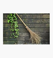 Witches broomstick Photographic Print