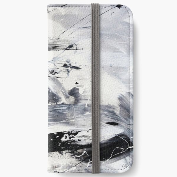 Black And White iPhone Flip-Case
