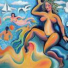 Venus on the beach by Karin Zeller