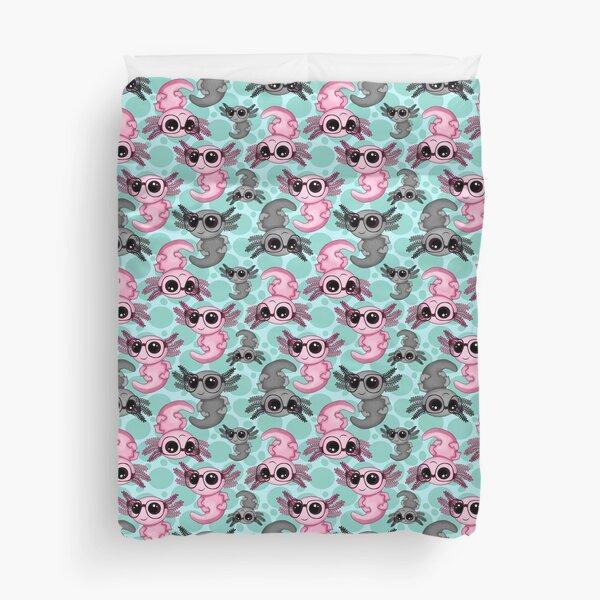 Axolotl Yin-Yang Duvet Cover
