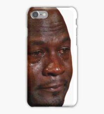 Crying Jordan iPhone Case/Skin