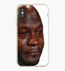 on sale 91735 d540f Michael Jordan Sad Face iPhone cases & covers for XS/XS Max, XR, X ...