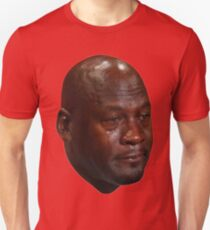 Crying Jordan Unisex T-Shirt