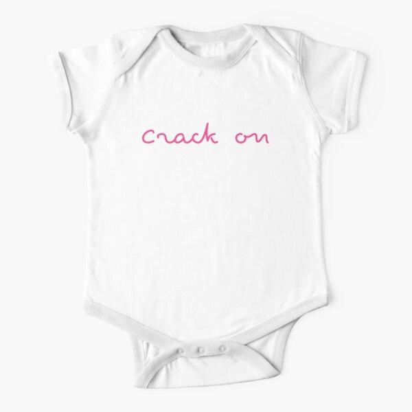 Love Island 2021 Crack On Short Sleeve Baby One-Piece