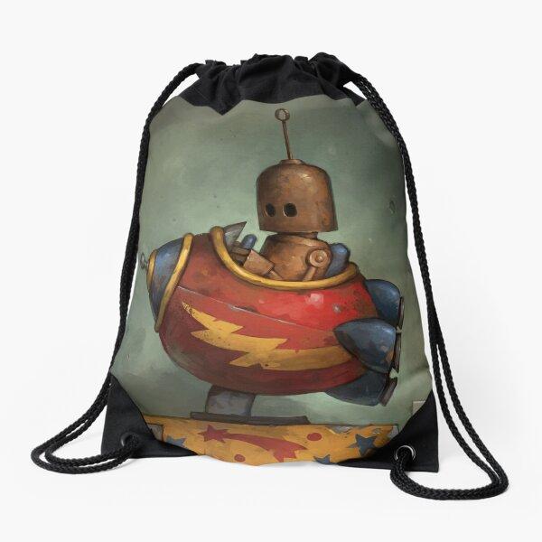To Boldly Go Drawstring Bag